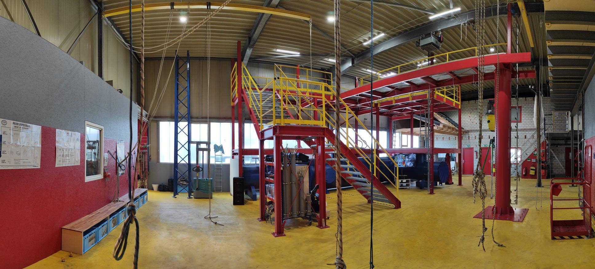 Industriekletterer Bonn Akademie Panorama